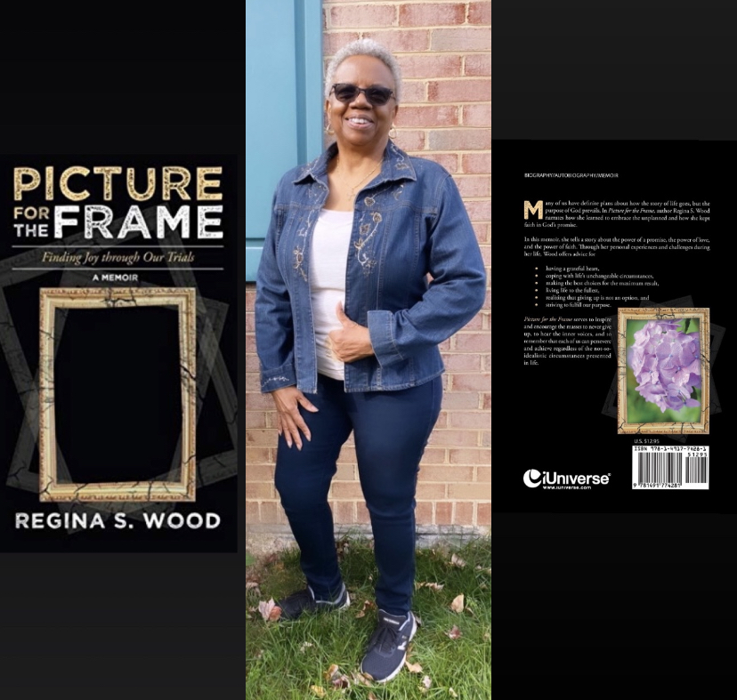 """CEO of Newmoneytaxes, Regina S. Wood, Releases Debut Book titled """"Picture for the Frame: Finding Joy through Our Trials"""""""