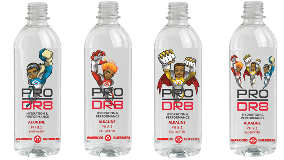 Canadian Black-Owned Businesses Team Up to Fight Sickle Cell Disease with limited-edition Superhero bottles