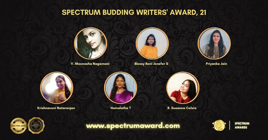 Writers recognised for Budding Writer category by FanatiXx Spectrum Awards.