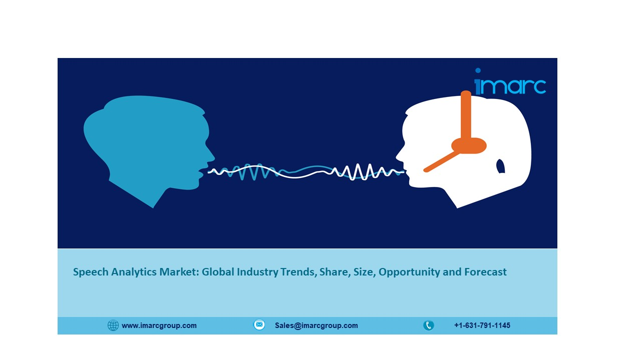 Speech Analytics Market (2021-2026): Global Size, Share, Trends, Analysis and Research Report - IMARC Group