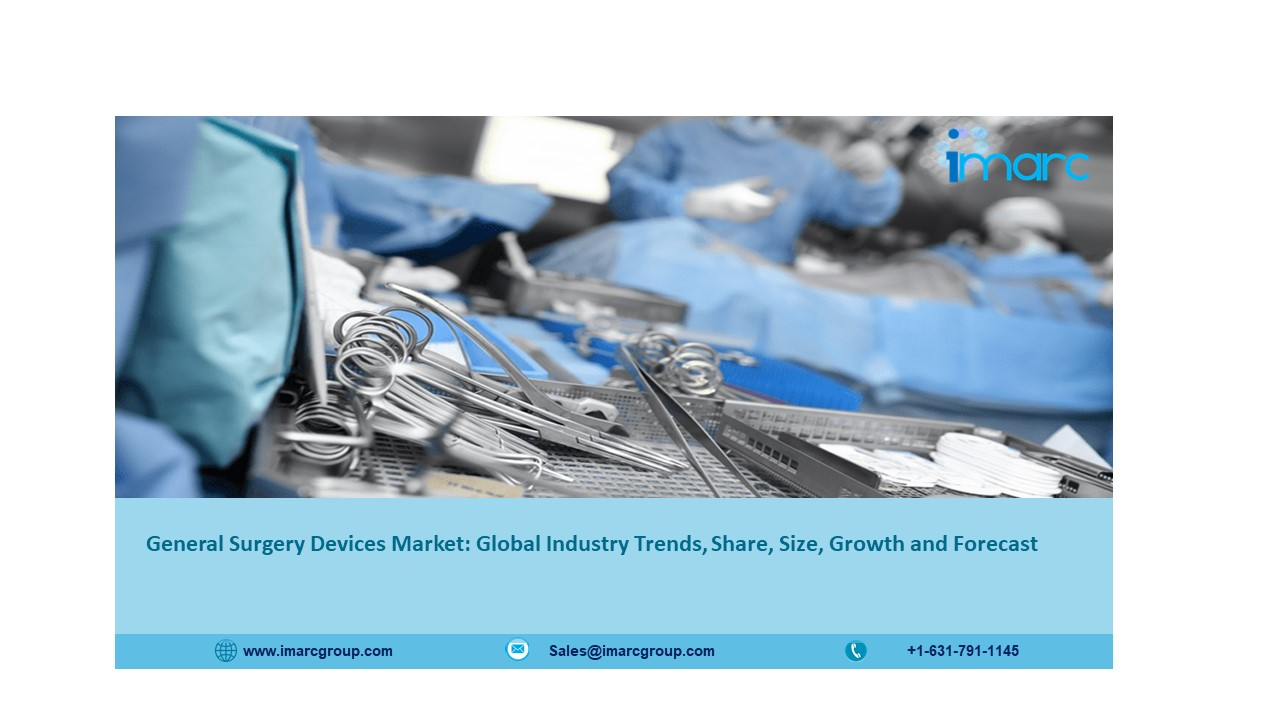 General Surgery Devices Market to Expand at a CAGR of 6% during 2021-2026 - IMARC Group