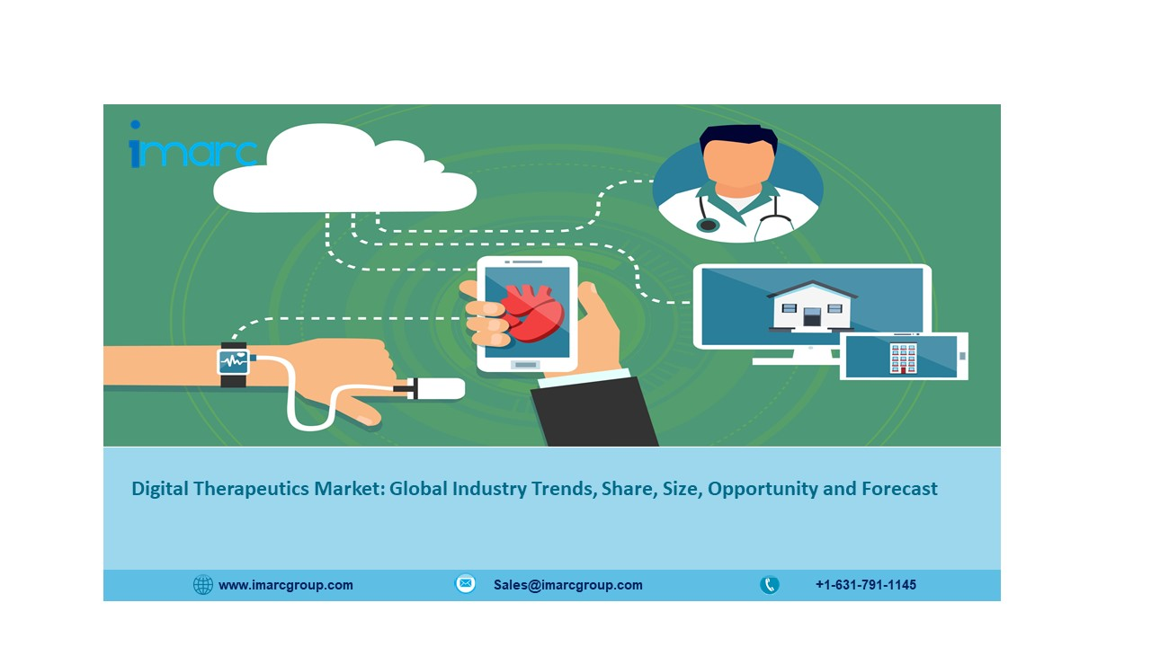Digital Therapeutics Market Size to Expand at a CAGR of 22% during 2021-2026 – IMARC Group