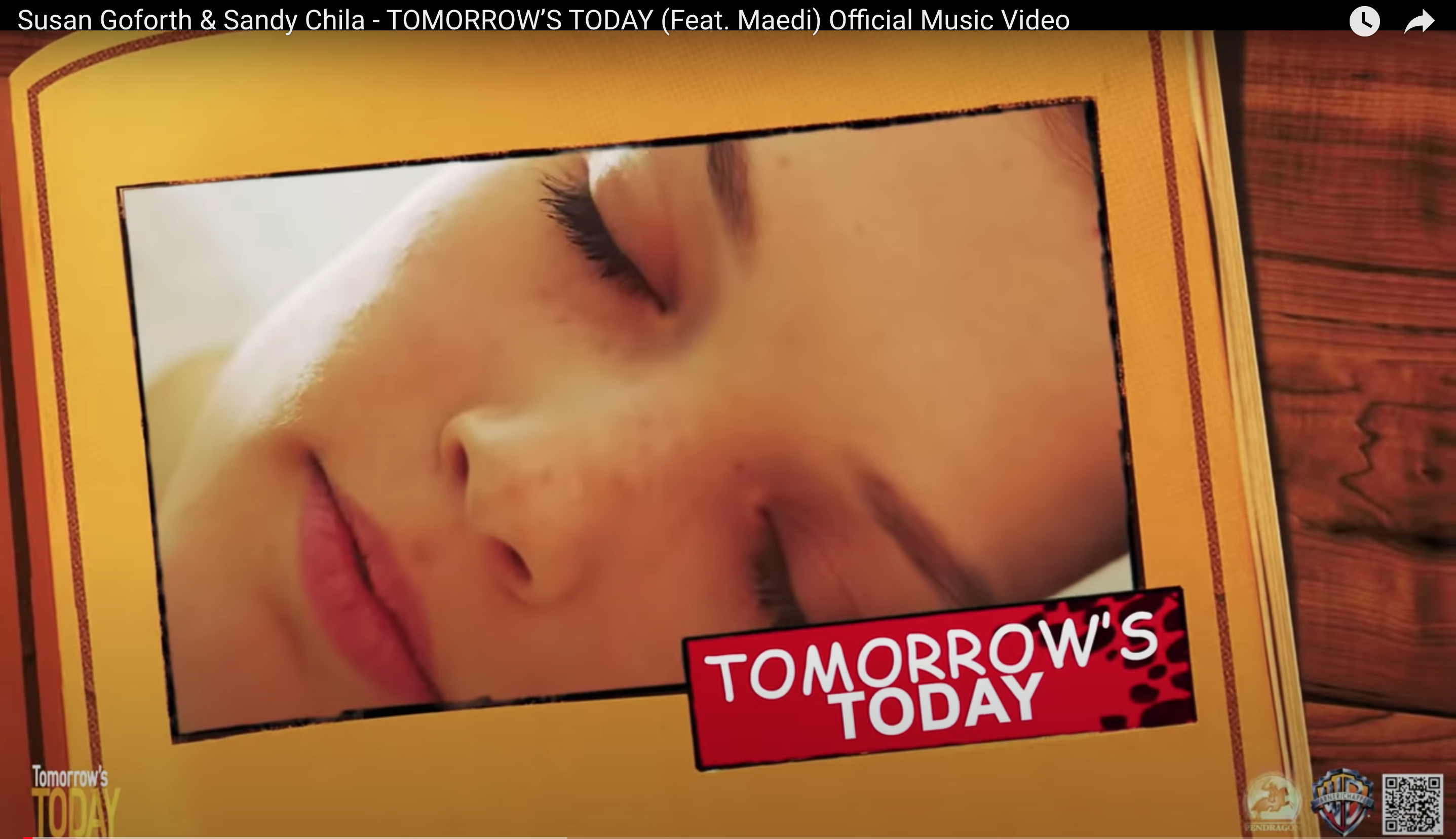 """Timothy Hines official music video for """"Tomorrow's Today"""" Released - Susan Goforth, Sandy Chila, Maedi movie theme collaboration."""