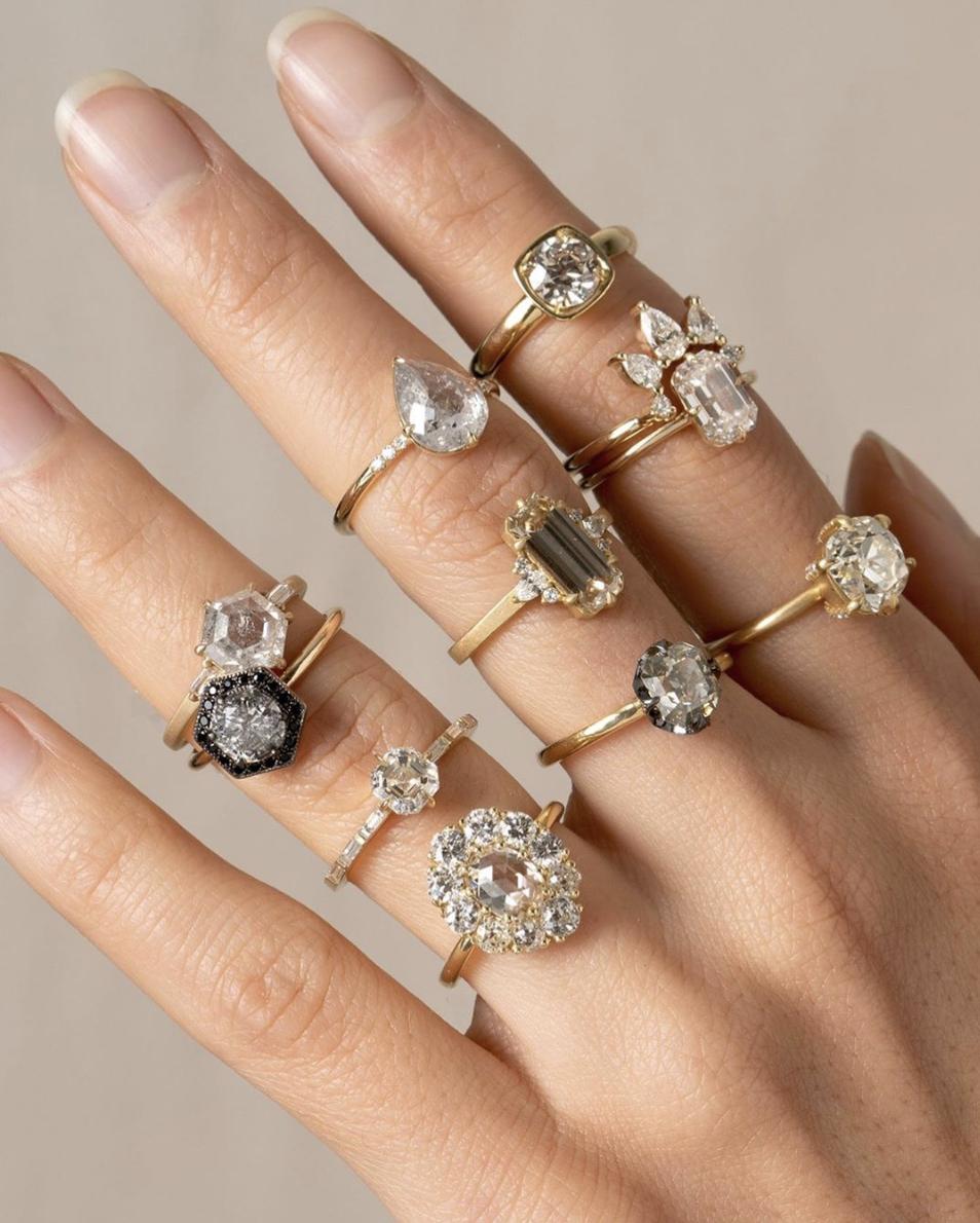 Eurekalook.com launch Best moissanite wedding rings