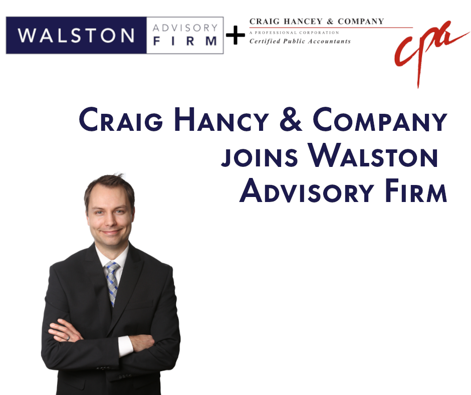Walston Advisory Firm acquires Craig Hancey & Co. accounting firm