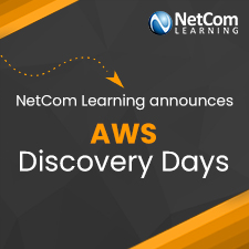 NetCom Learning announces AWS Discovery Days