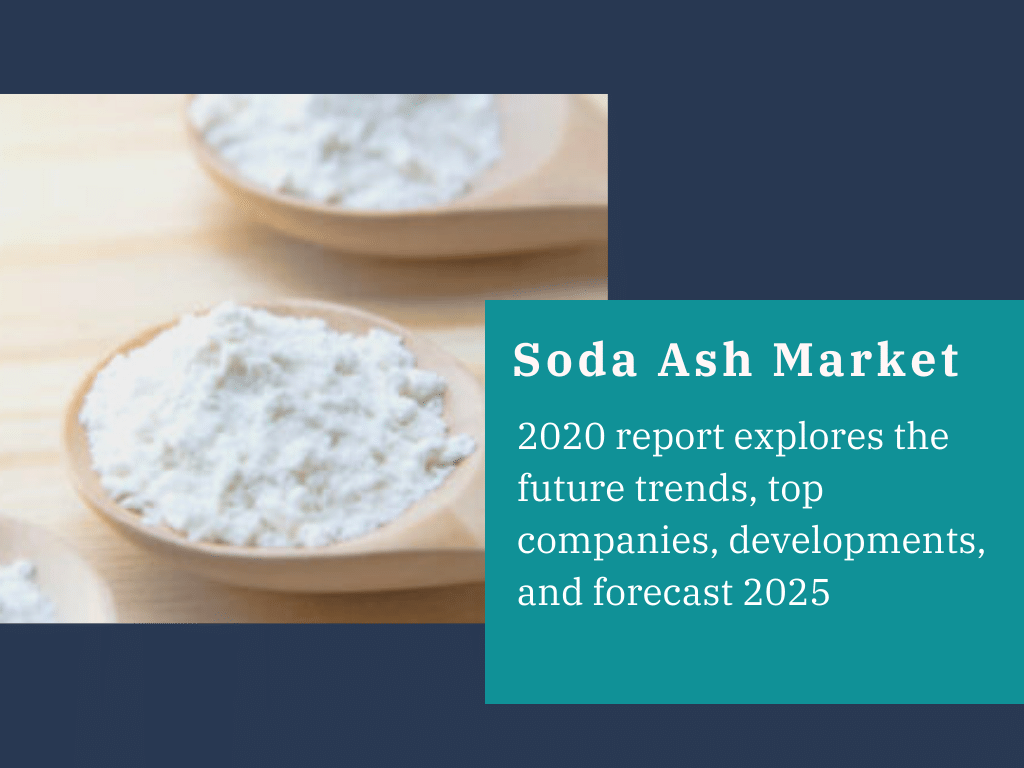Soda Ash Market 2020 report explores the future trends, top companies, and forecast 2025
