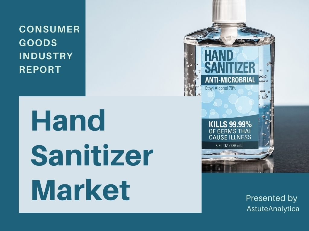 Hand sanitizer market insights shared in detailed report 2021, forecasts to 2027
