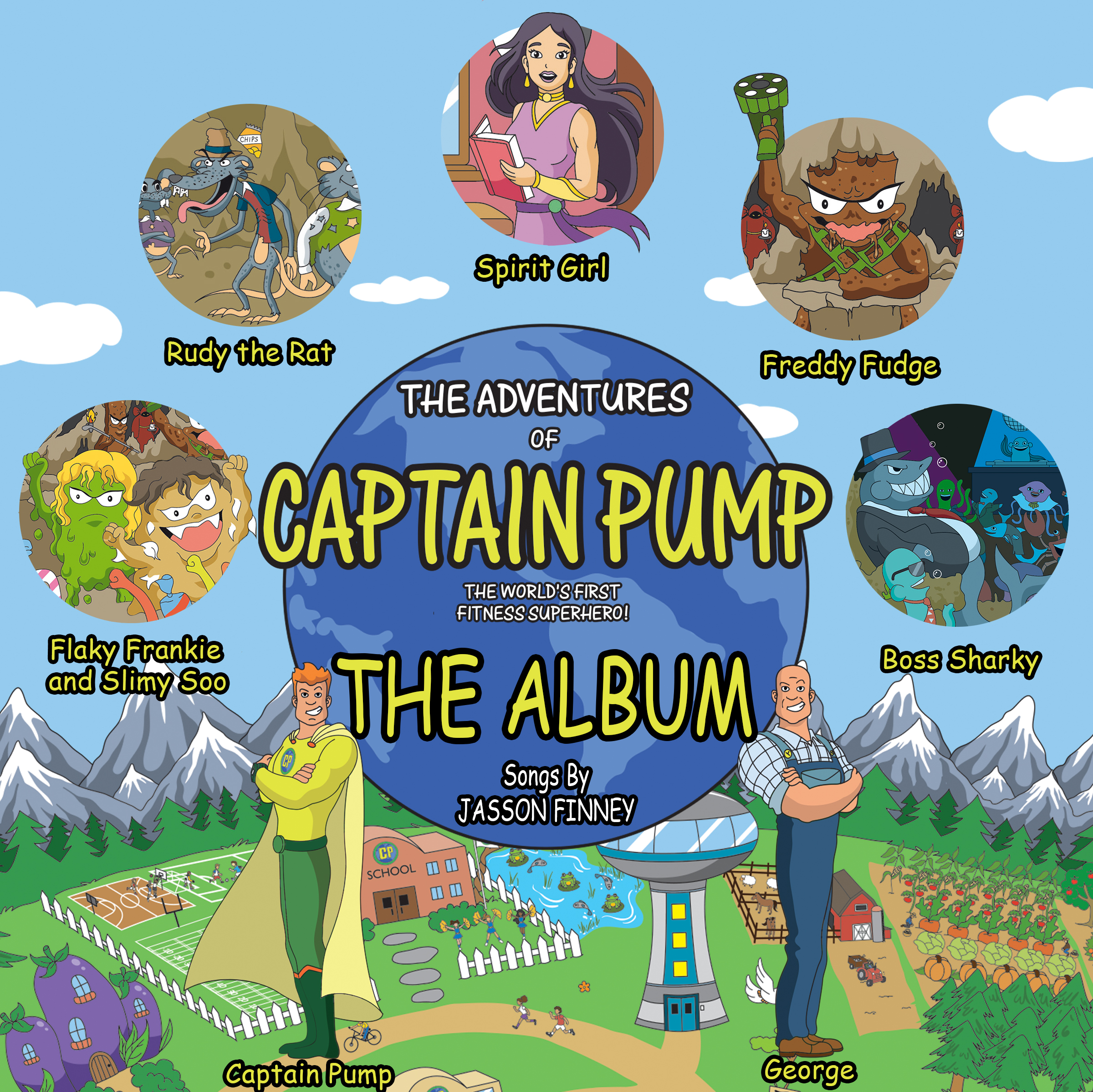"""Fitness Expert, Actor and Author Releases """"Captain Pump"""" Children's Book Series"""