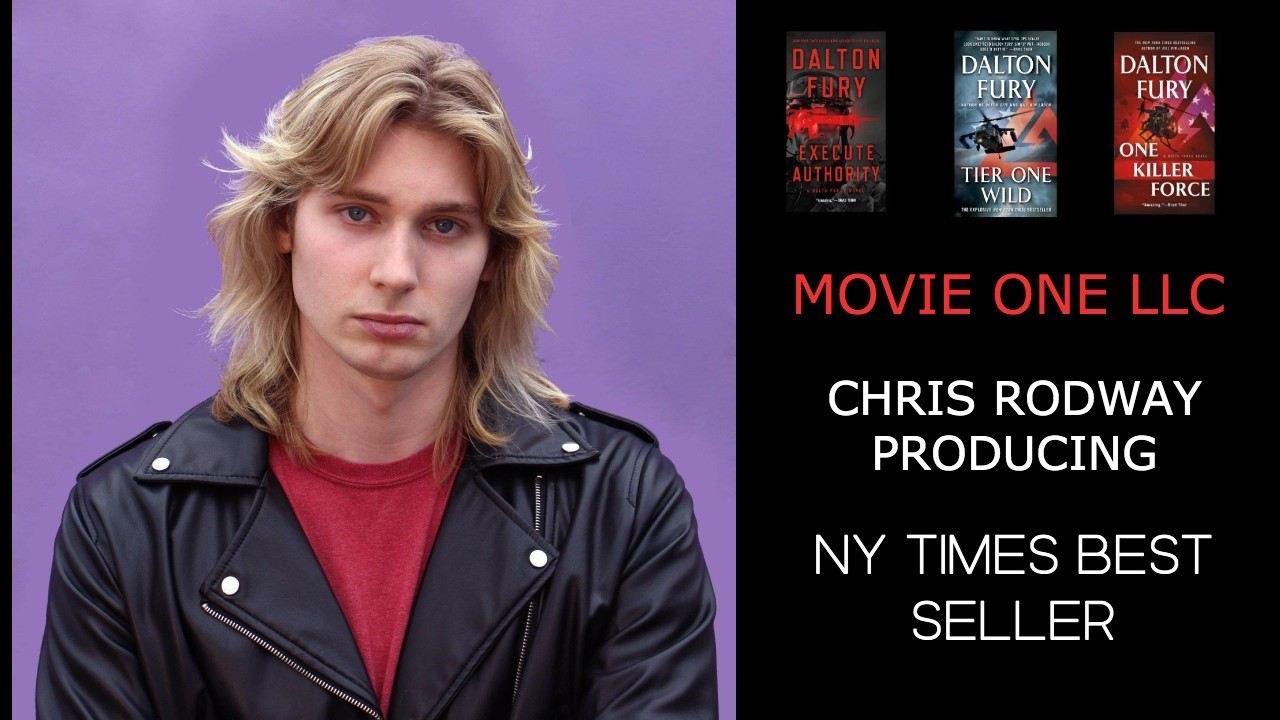 Actor & Rock Singer Chris Rodway Confirms Producing NY TIMES Best Selling Book Series in the Works