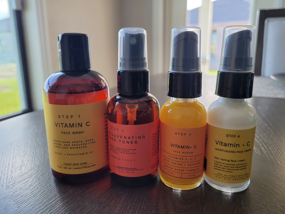 Ti10up: A Thriving E-commerce Website with High-quality Skin Care Products