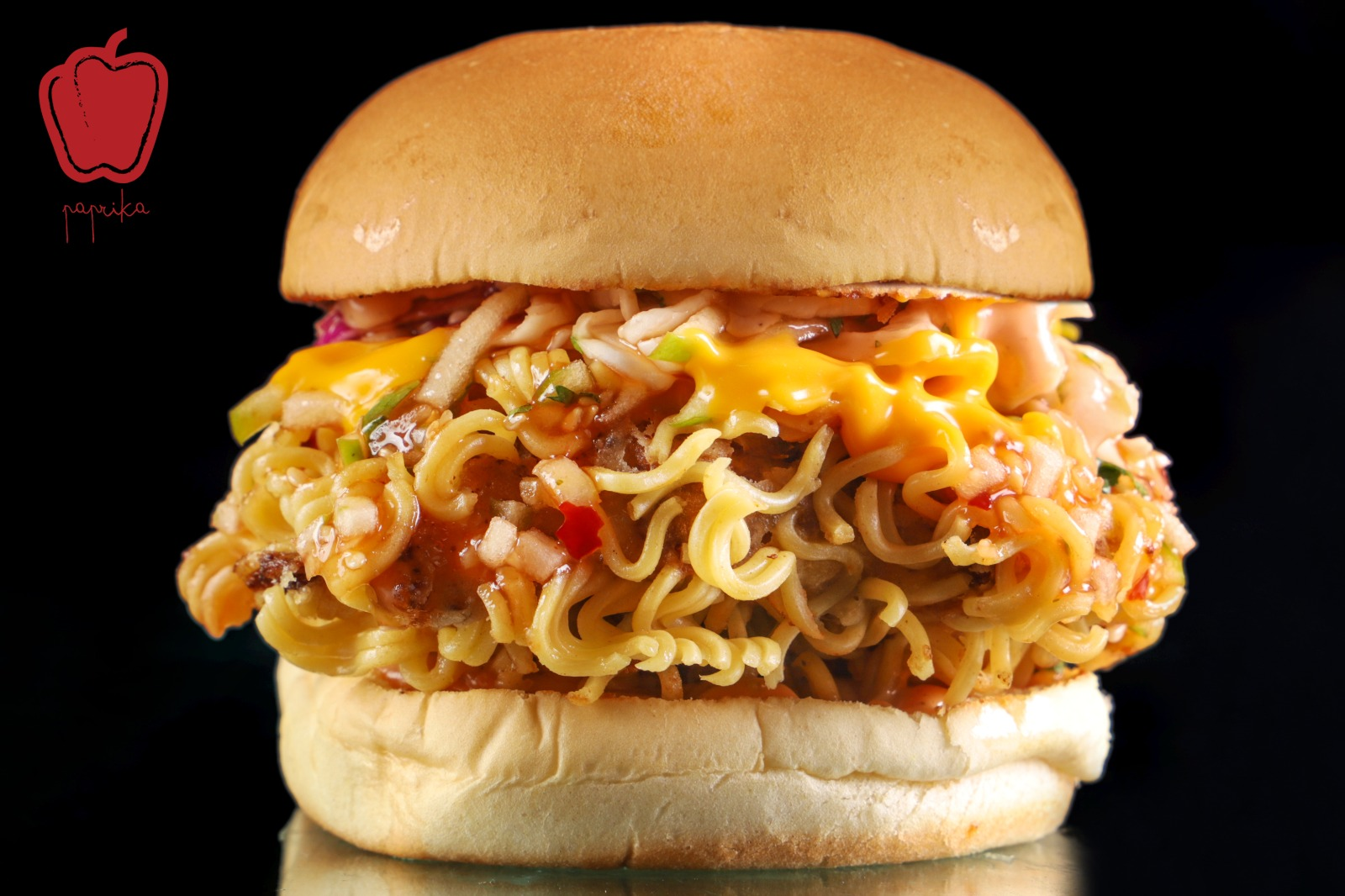 Paprika Qatar is boosting its menu with the new Indomie Chicken Burger