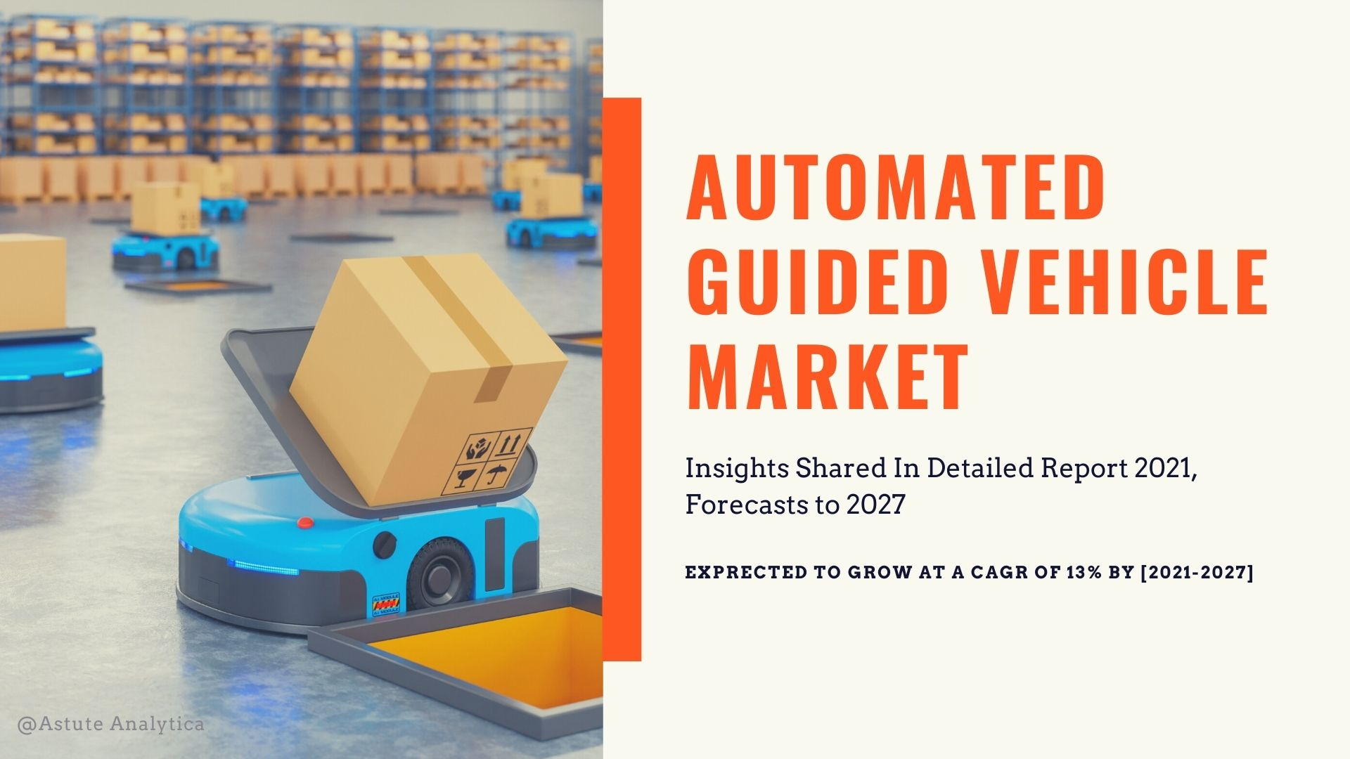 Global Automated Guided Vehicles Market Key-players, Type, Size, Revenue and Forecast to 2027