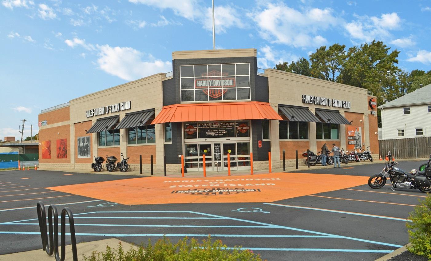 The Boulder Group Arranges Sale of New York Net Leased Harley-Davidson Property