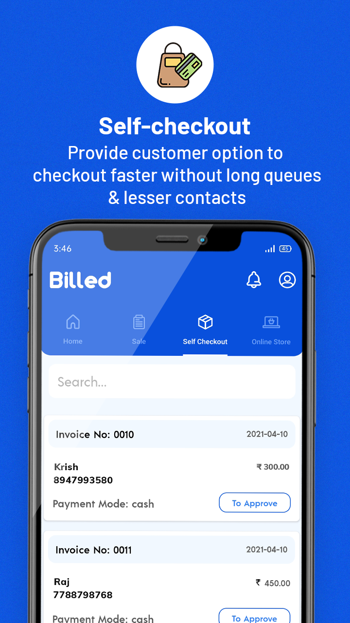 Billed for digital invoices, inventory management, self-checkout and more