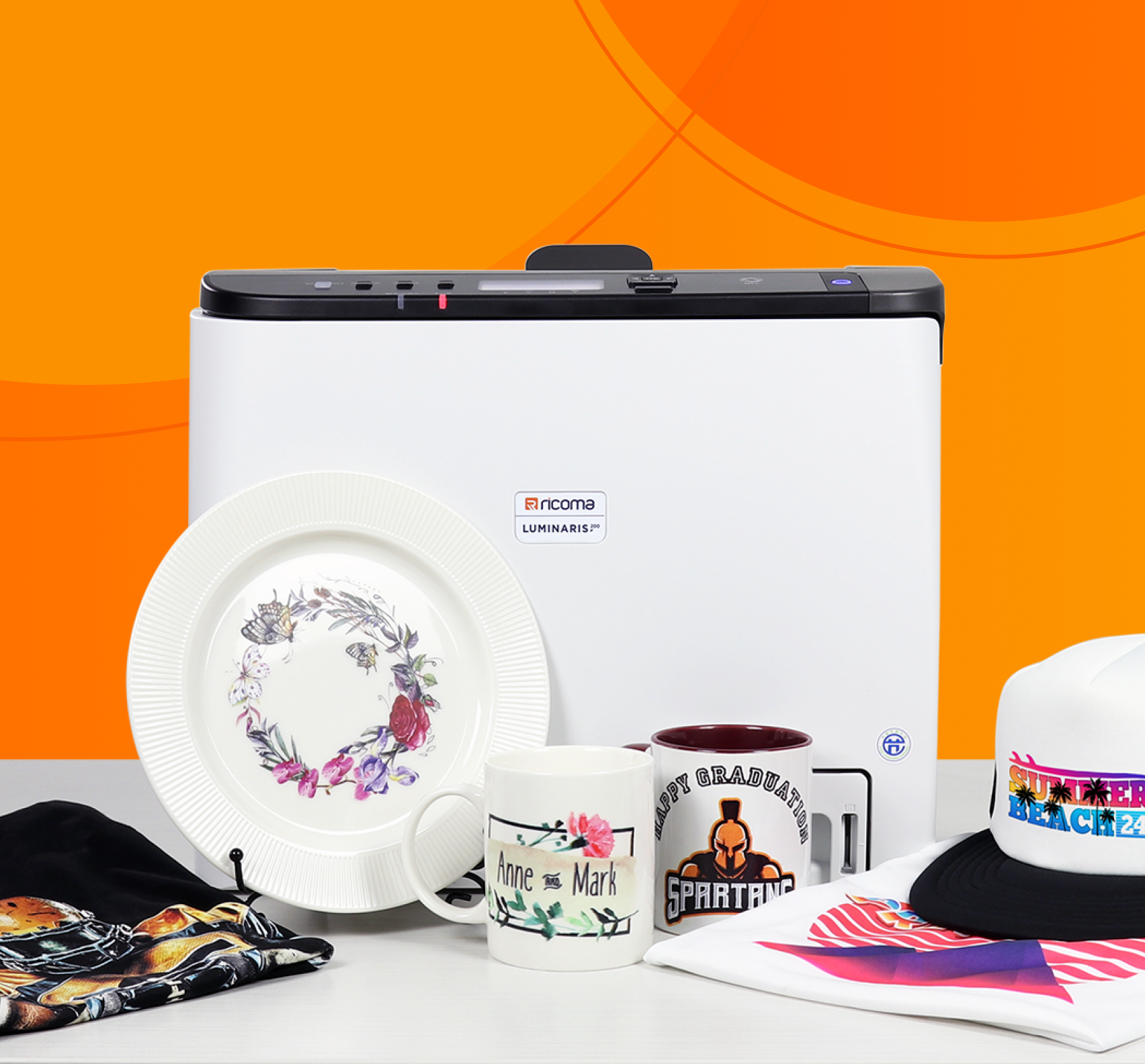 Embroidery Industry Powerhouse Releases Proprietary White Toner Transfer Printer