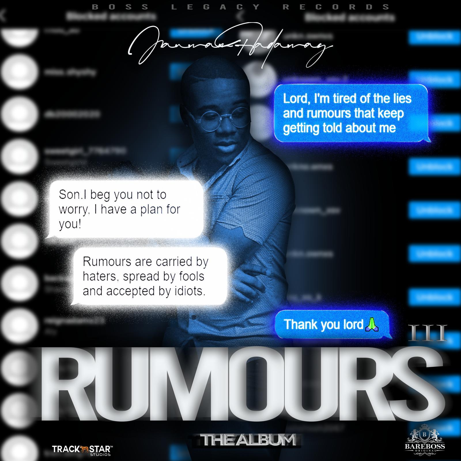 St. Vincent's Rising Music Star Jauwan Hadaway to Release Full Album, 'Rumour III'