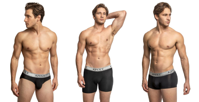 Apixt Reinvents Men's Underwear with Breakthroughs in Comfort, Odor and Sweat Control as well as Sustainability