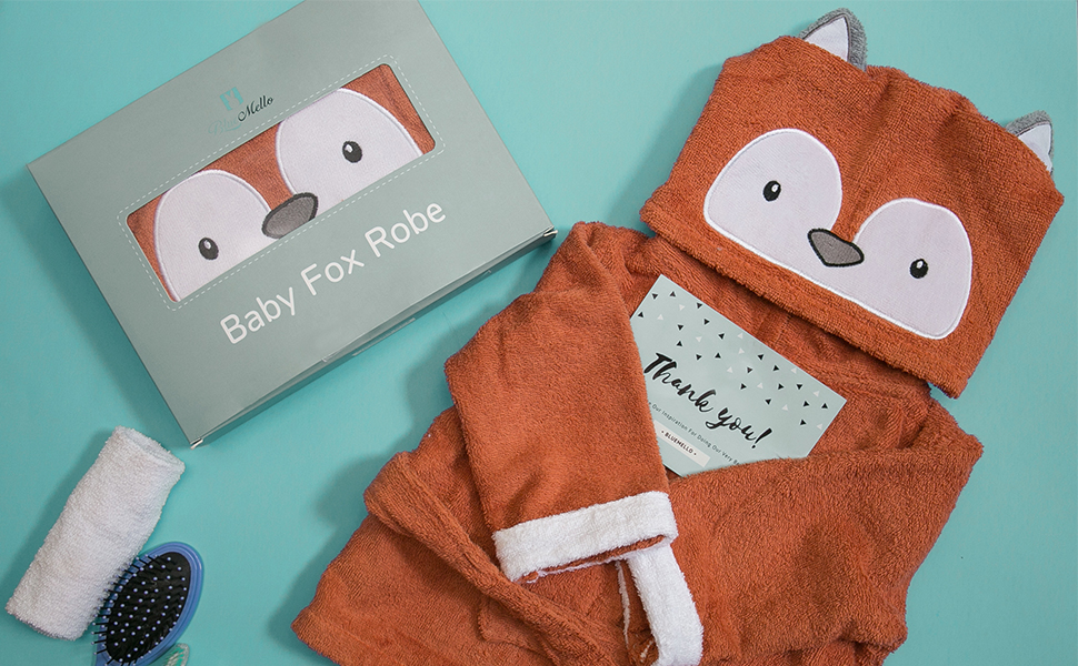 BlueMello Presents Ultra-Soft, Hooded Bathrobes Made Just for Babies and Toddlers
