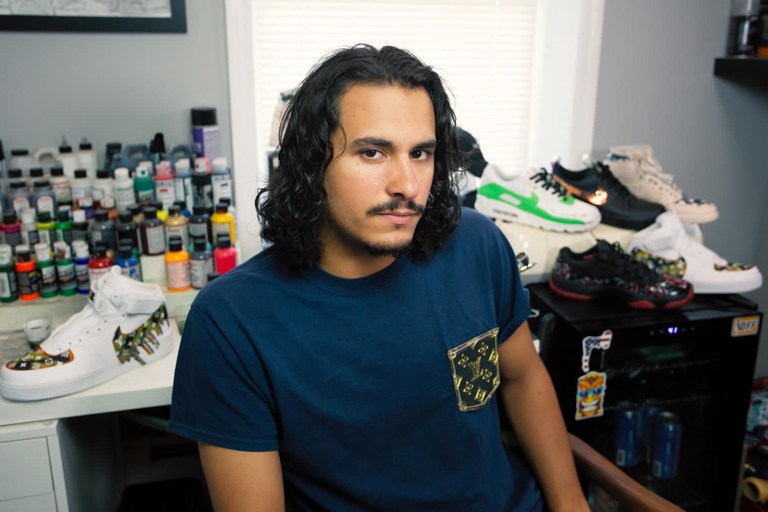 How Danny Toimil Gained Popularity With His Unforgettable Customized Sneaker Designs