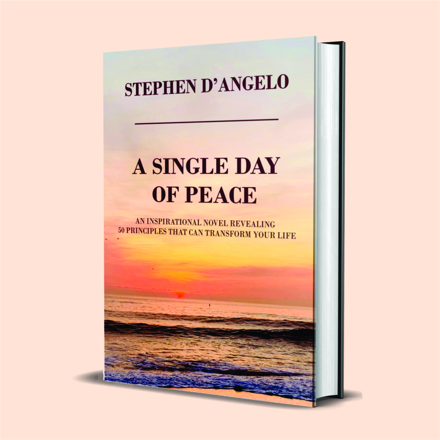 """Kharis Publishing releases """"A Single Day of Peace: An Inspirational Novel Revealing 50 Principles That Can Transform Your Life"""""""