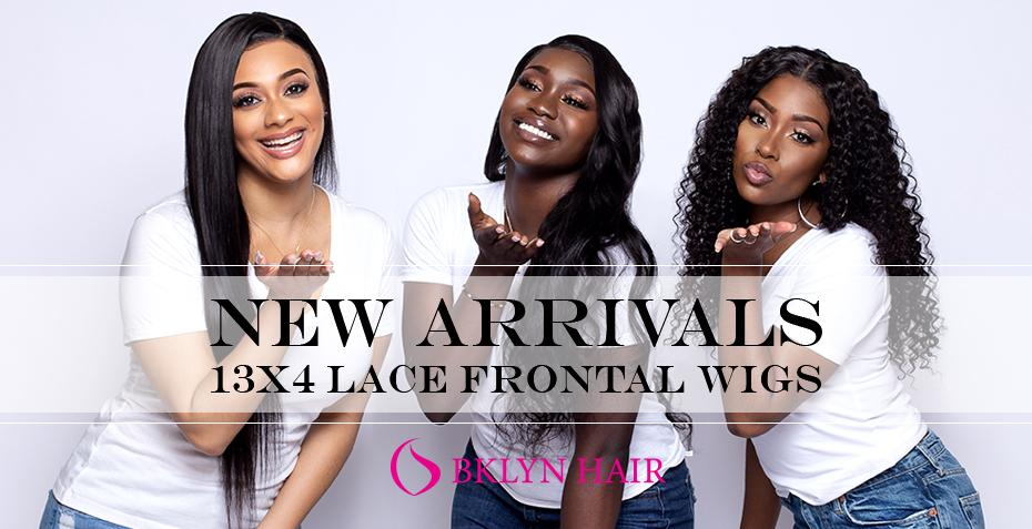 Brooklyn Hair Announces New Style Arrivals For 13x4 Lace Frontal Wigs