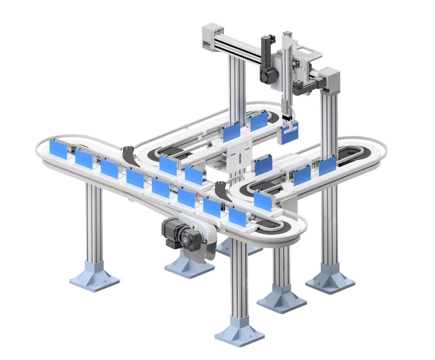 mk North America Introduces VersaFlex P08 Pallet-Handling Conveyor System