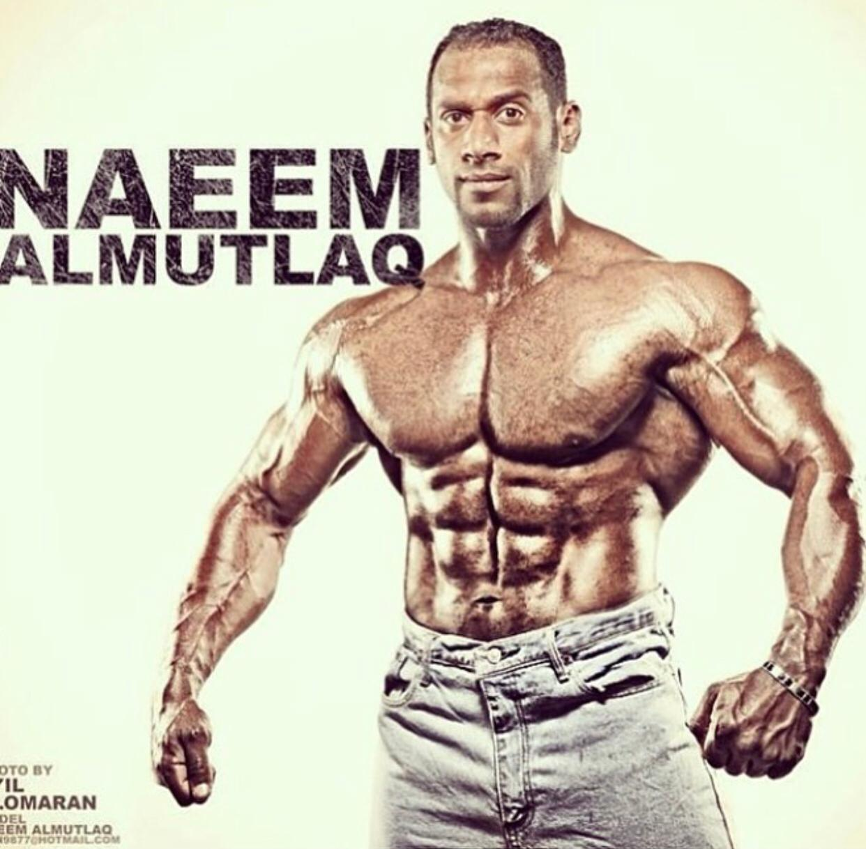 Naeem Al Mutlaq, one of the best personal trainers in the world