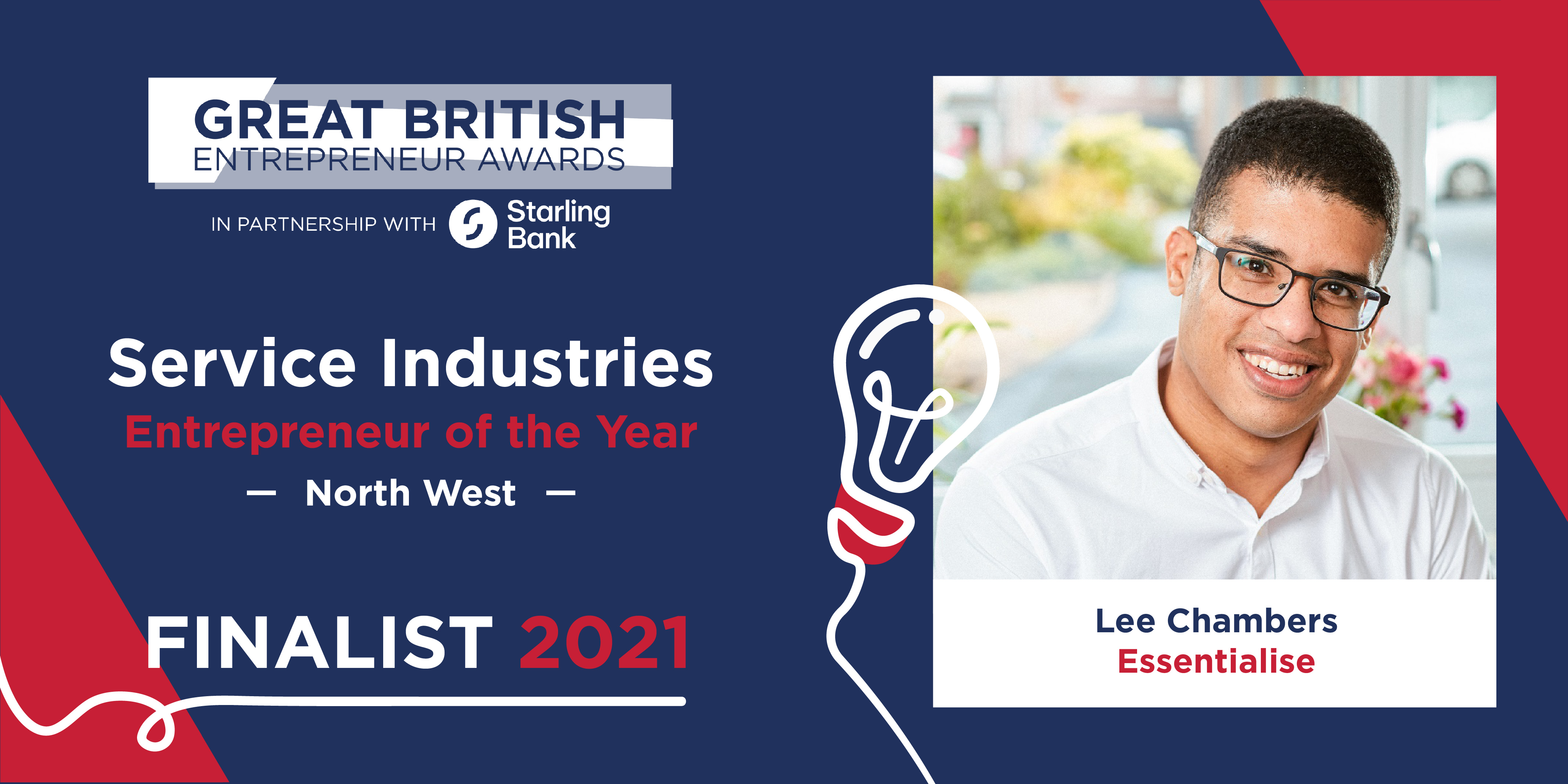 British entrepreneur Lee Chambers up for a Great British Entrepreneur Award