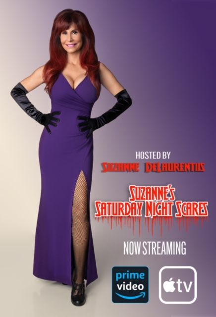 Suzanne's Saturday Nights Scares is now streaming on Amazon Prime Video and Apple TV.