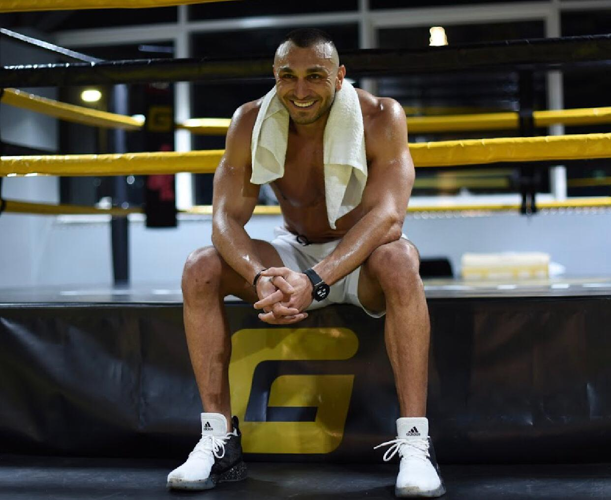 Ahmed Ahmed, one of the best fitness trainers in UAE