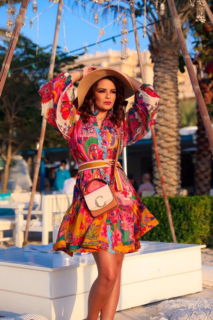 Sarah Fadhlaoui, one of the most influential Arab fashion icons