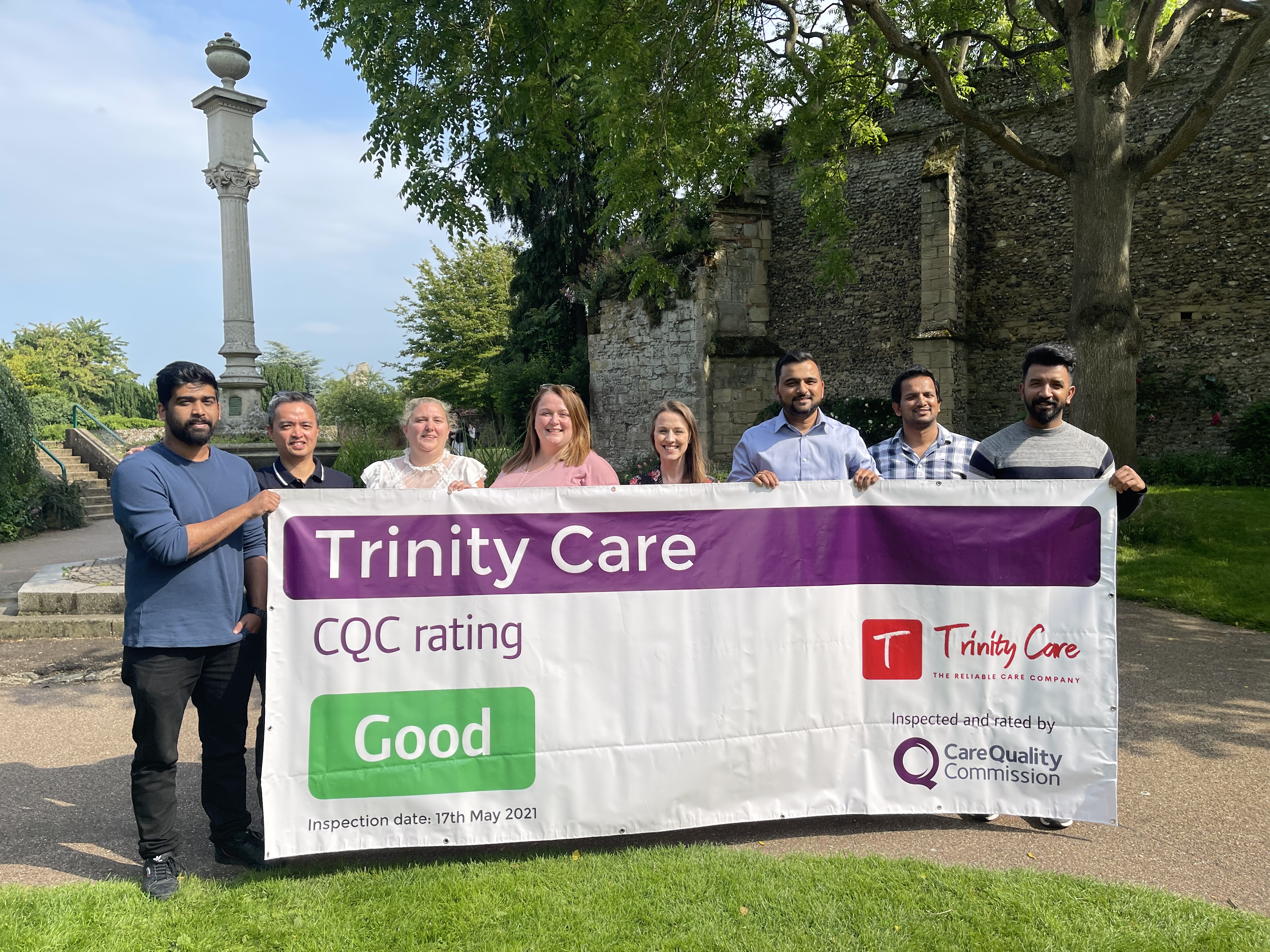Trinity Carestaff Solutions Ltd Rated As 'GOOD' By The Care Quality Commission