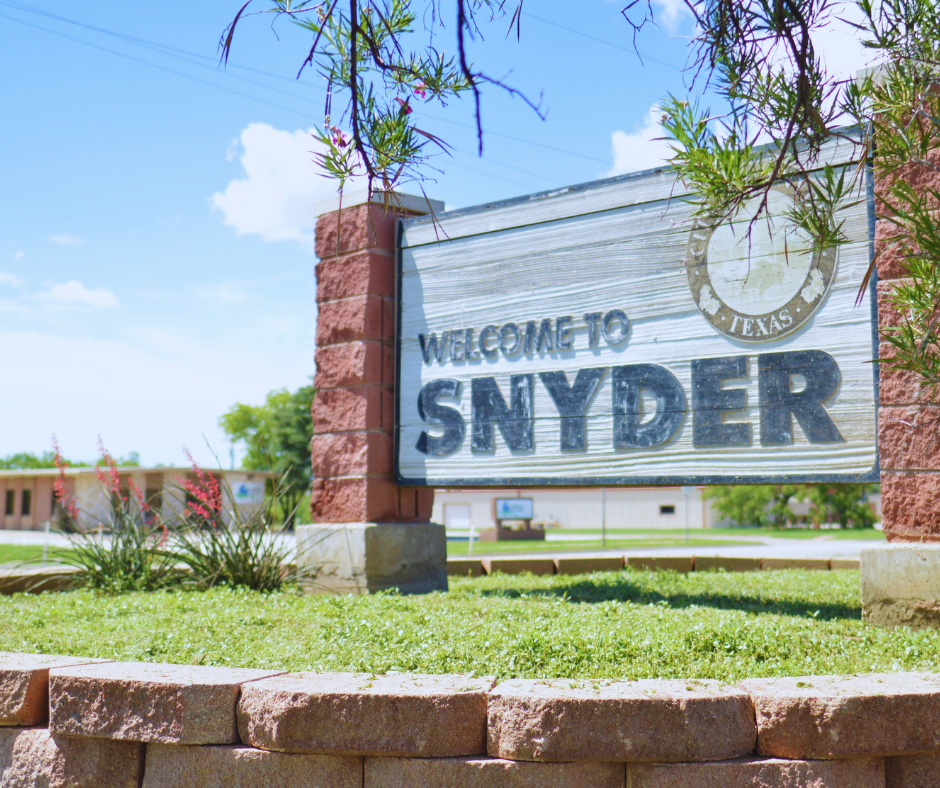 Development Corporation of Snyder Supports Two Community Initiatives Utilizing American Rescue Plan Funds