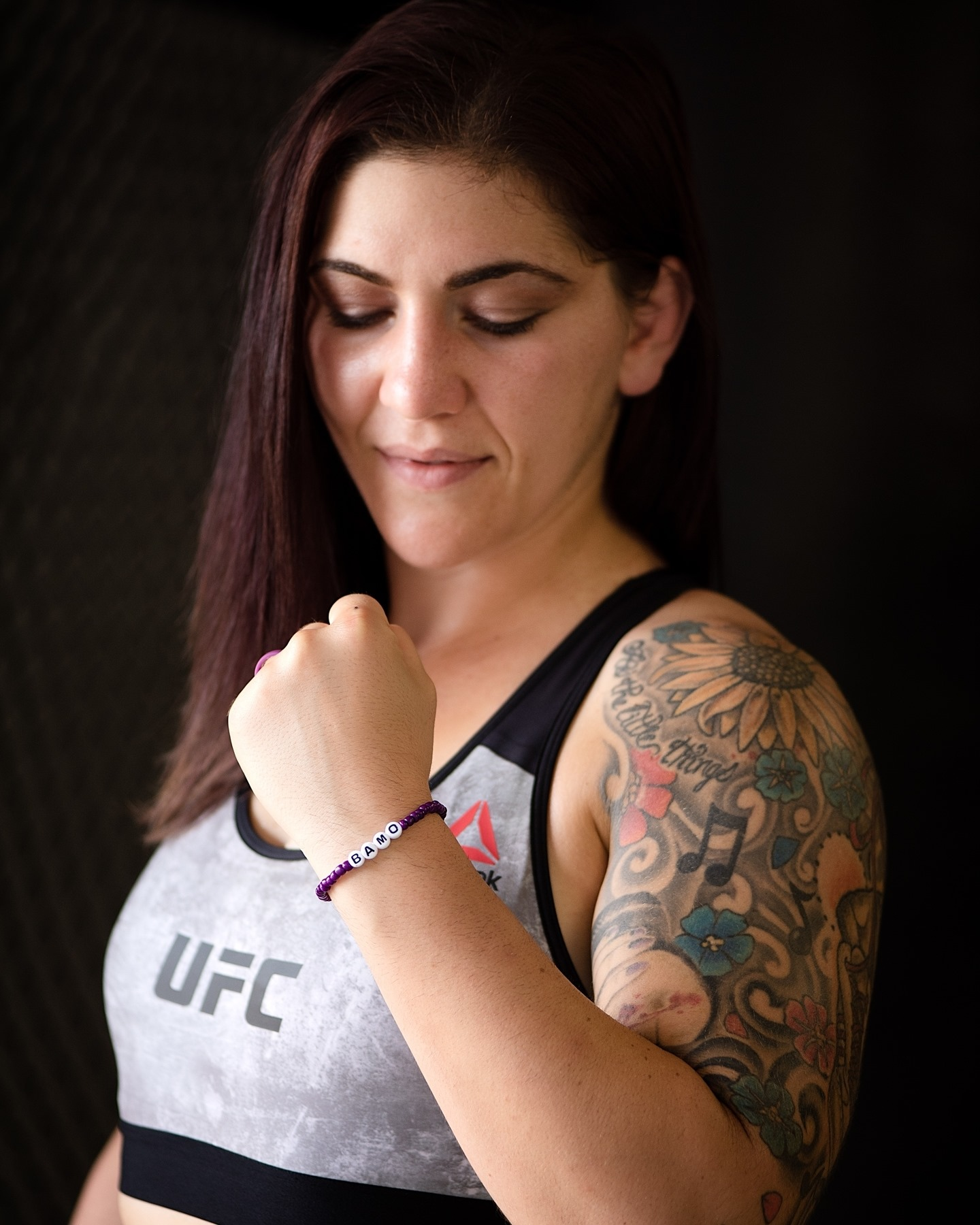 """Dr. Seth Hickerson of My Steady Mind Sponsors UFC fighter, Sarah """"Too Sweet"""" Alpar"""