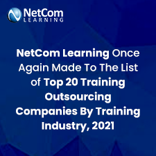 NetCom Learning Once Again Made To The List of Top 20 Training Outsourcing Companies By Training Industry, 2021