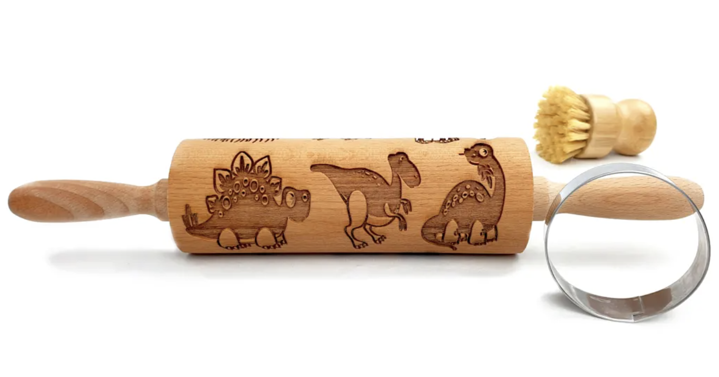 Wakeup! Launches Brand-New Product, the Dinosaur Embossed Rolling Pin