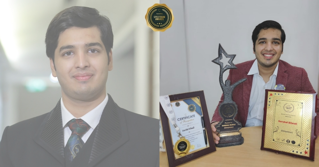 Being a Teenager to The Youngest successful director and entrepreneur, Mr.Harshal Dilwali, awarded by FanatiXx Spectrum Awards