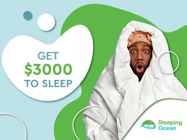SleepingOcean.com Has Teamed Up with Brooklyn Bedding for a Sleeping Contest in Which Participants Can Win Money?