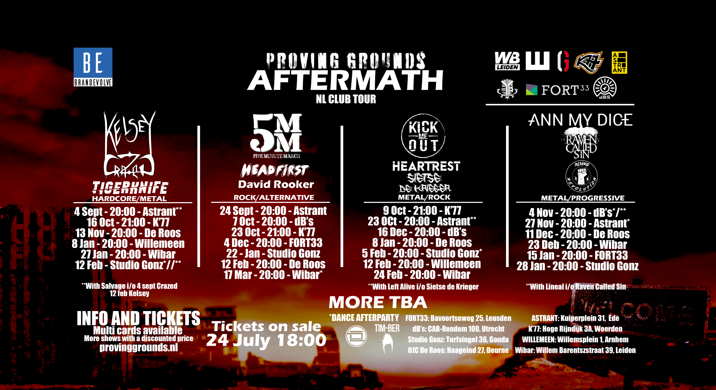 BrandEvolve Bookings Presents Proving Grounds Aftermath: The Biggest Livestream Music Festival Ever