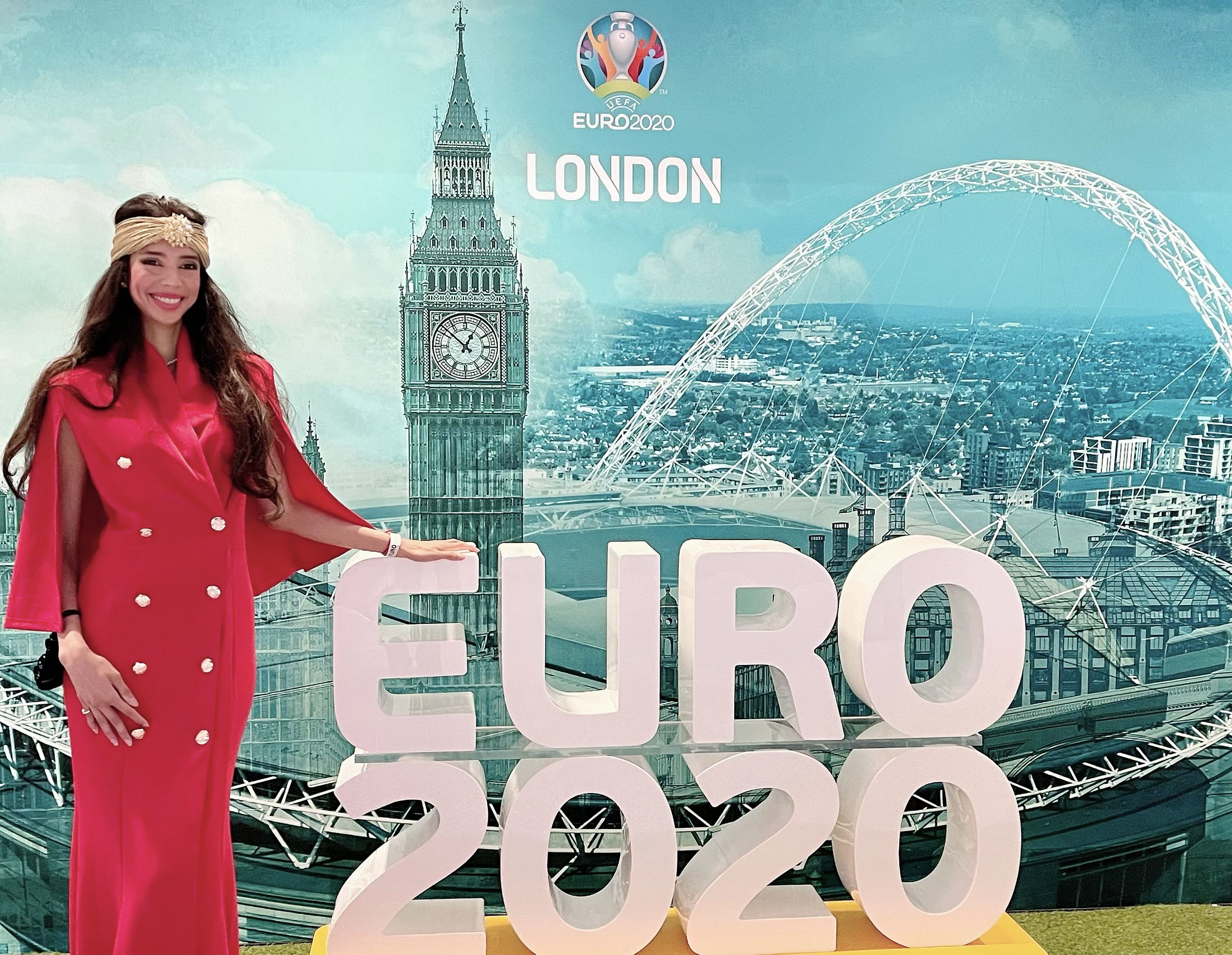 Princess Rani Vanouska T. Modely stands against discrimination after Euro cup final, and calls upon all the football federations to secure football's status as World Heritage.