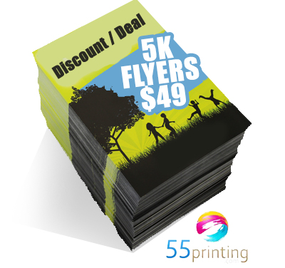 55 Printing Expands Services to Offer Cheap and Affordable Flyer Printing in the United States