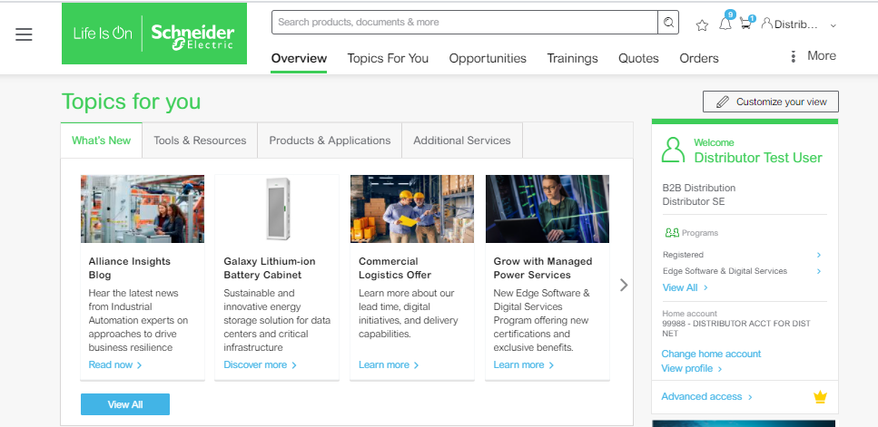 Schneider Electric unveils mySchneider: an all-in-one personalized digital experience for customers and partners