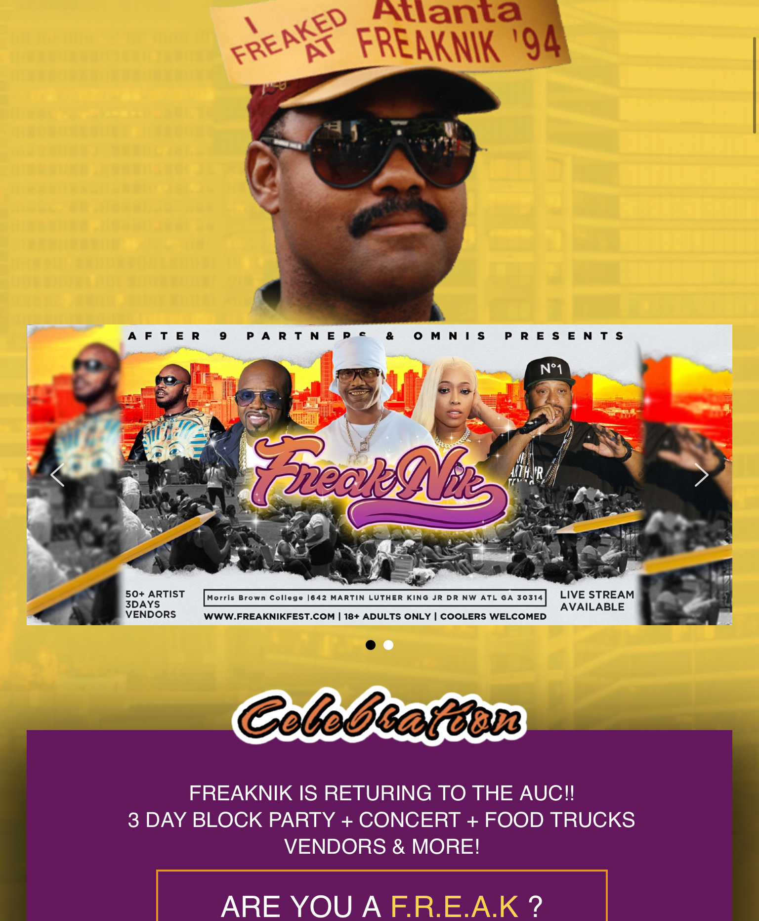 """Organizer 'After 9 Partners' Assures Attendees That """"Freaknik Festival"""" Will Go on As Planned"""