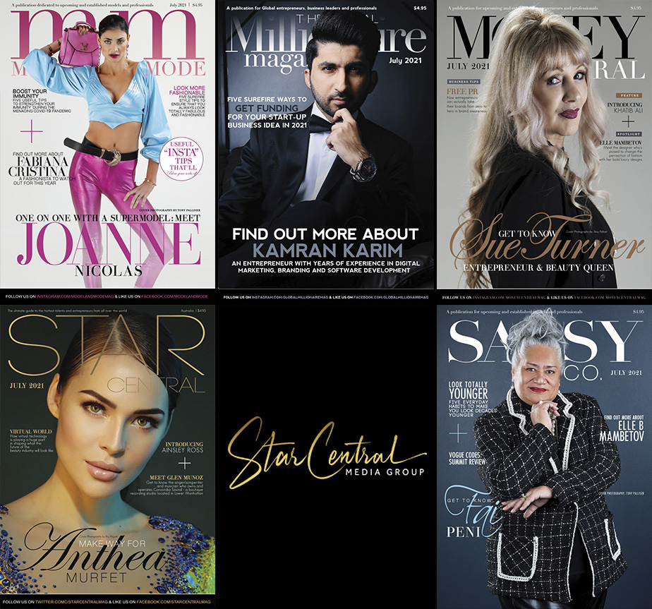 StarCentral Media Group has released this month's Movers & Shakers featuring: Kamran Karim, Joanne Nicolas, Fai Peni, Anthea Murfet and Sue Turner