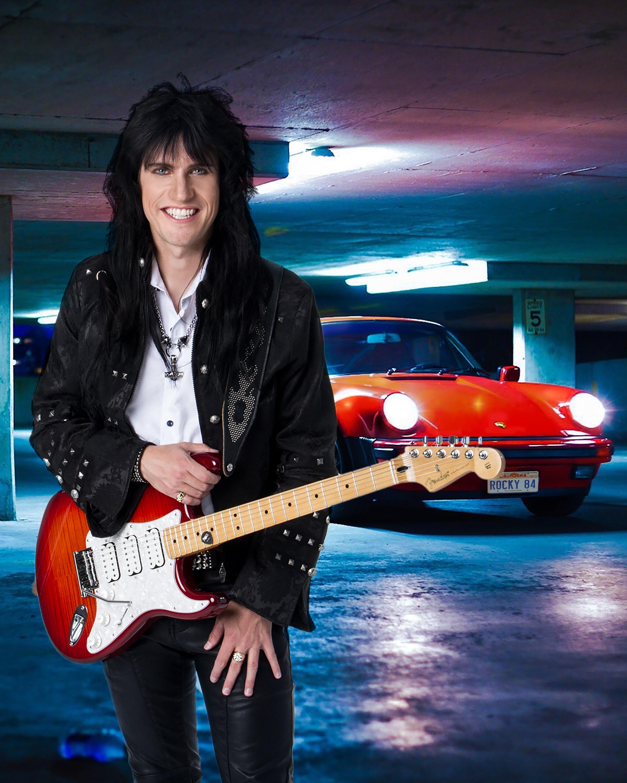 Rock Guitar Sensation Rocky Kramer Cast As Lead In Mutt Productions Rockin' In Time Movie