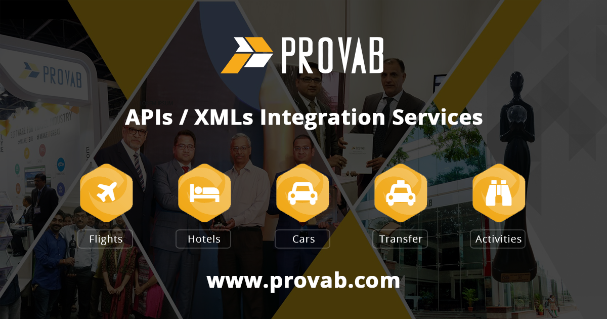 Travel APIs Provider - PROVAB Launches XML feed with Global Flights Including LCCs, Hotels, Cars, Transfers, and Activities Inventory