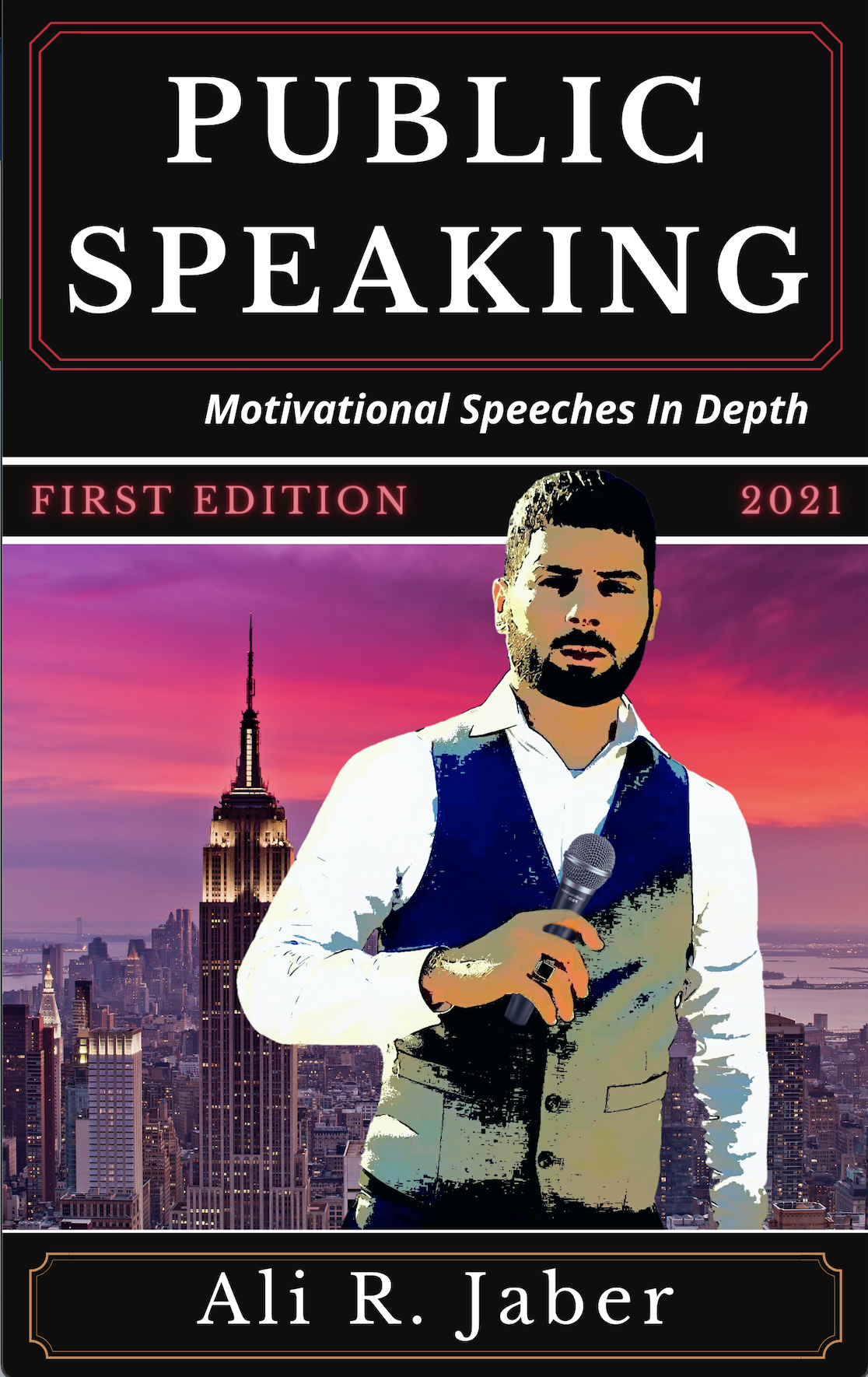 Author Ali R. Jaber, The Pride of Lebanon Launches New Book That Focuses on the Art of Public Speaking