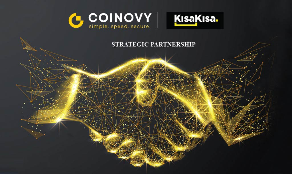 COINOVY Announces Partnership with KISAKISA