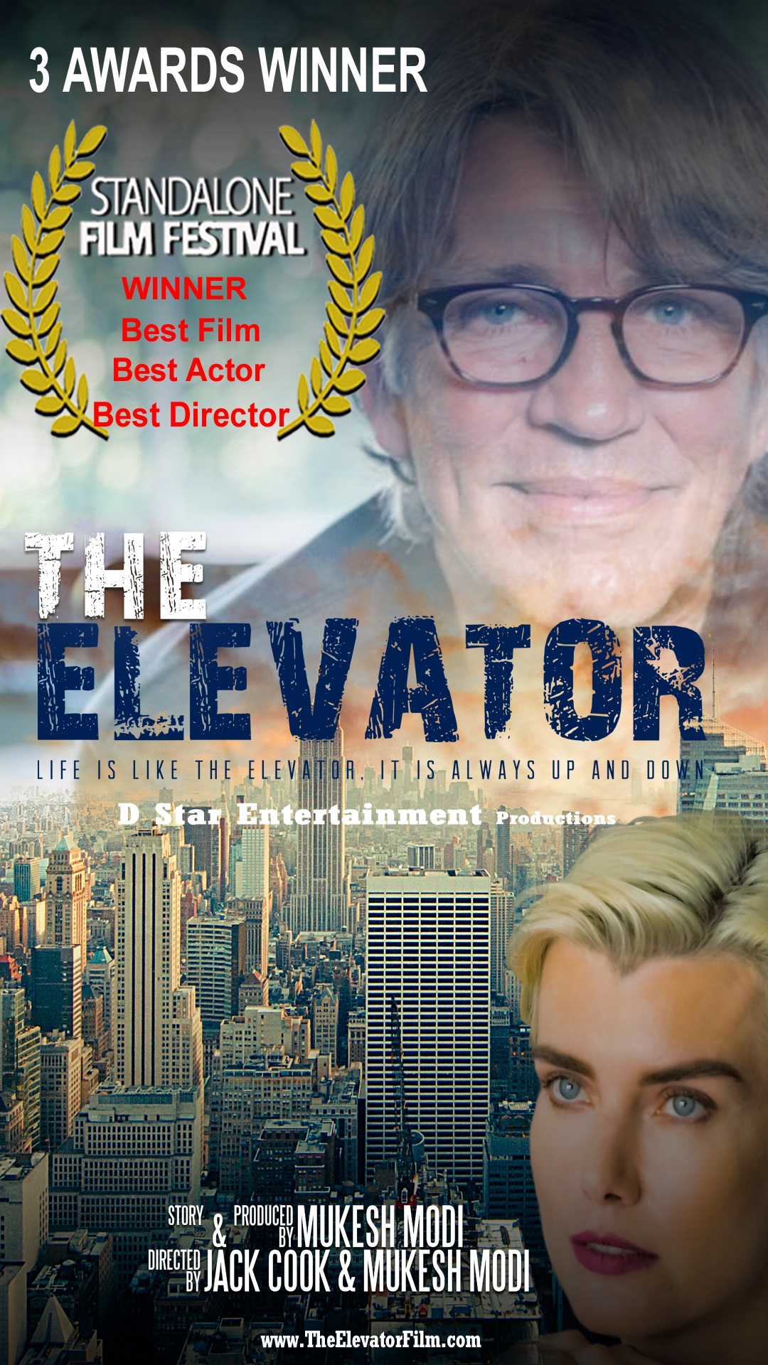 """""""The Elevator"""" Wins Best Film, Best Actor, Best Director at the TCL Chinese Theatres in Hollywood"""